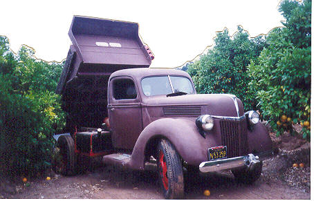 Ford on 1940 Ford Dump